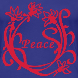 Lotus Flower Peace T-Shirts - Women's Premium T-Shirt