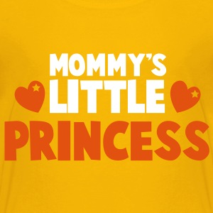 MOMMY's little princess super cute with hearts Shirts - Kids' Premium T-Shirt