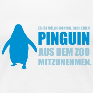 pinguin_2 T-Shirts - Frauen Premium T-Shirt