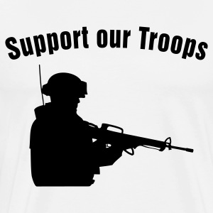 Support our Troops T-Shirts - Men's Premium T-Shirt