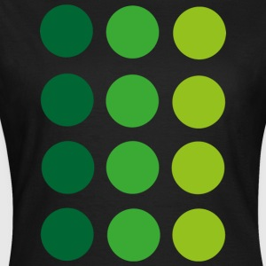 green Dots T-Shirts - Frauen T-Shirt