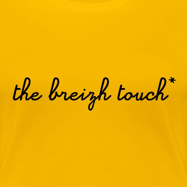 DIWAN FEMME - THE BREIZH TOUCH* JAUNE - SCOLAIRE