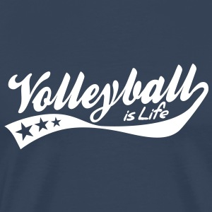 volleyball is life - retro Tee shirts - T-shirt Premium Homme