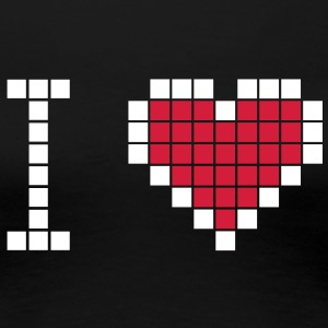 I love geek - Frauen Premium T-Shirt