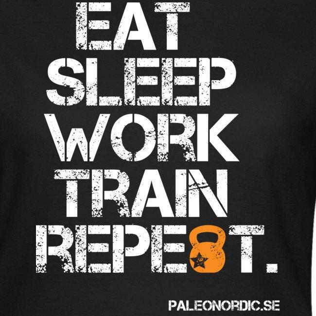 EAT, SLEEP, WORK, TRAIN, REPEAT