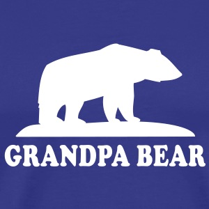 GRANDPA BEAR T-Shirt WB - Men's Premium T-Shirt