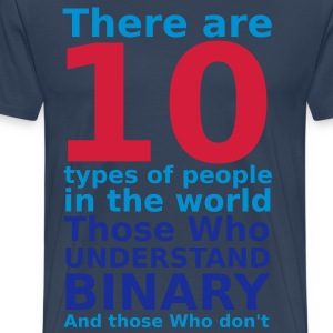 There are 10 types of people Tee shirts - T-shirt Premium Homme