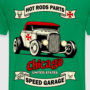 old racing car 3 Tee shirts - T-shirt Premium Homme
