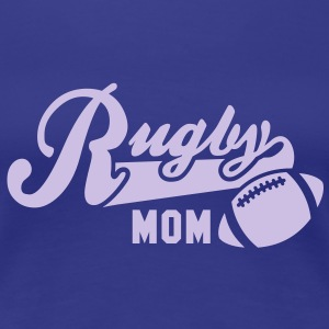 Rugby MOM T-Shirt FB - Women's Premium T-Shirt