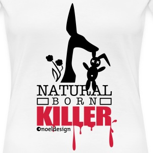 natural born killer  T-Shirts - Women's Premium T-Shirt