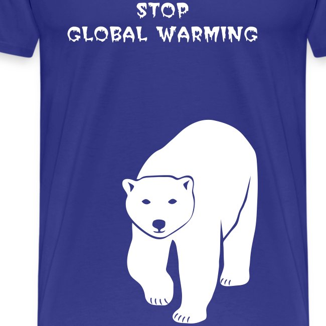 tier t-shirt eisbär polar bear ice knut klimawandel eis nordpol bär stop global warming CO2