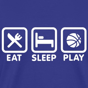 Eat - Sleep - Play Basketball Tee shirts - T-shirt Premium Homme