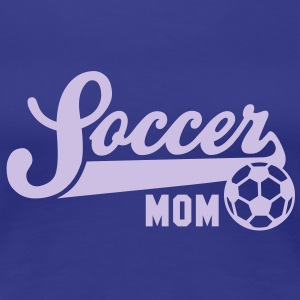 Soccer MOM T-Shirt FB - Premium T-skjorte for kvinner
