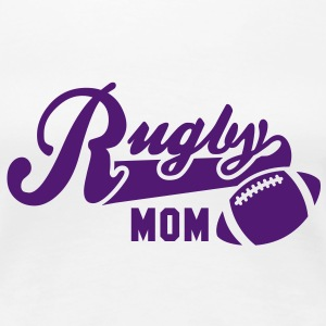 Rugby MOM T-Shirt LW - Women's Premium T-Shirt