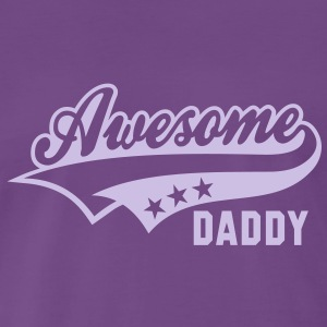 Awesome DADDY T-Shirt FL - Premium-T-shirt herr