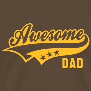 Awesome DAD T-Shirt YB - Premium T-skjorte for menn