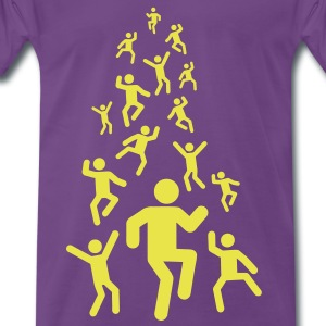 DANCE! - FREAK OUT! T-Shirts - Männer Premium T-Shirt
