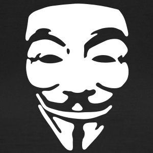 GUY FAWKES, anonymous T-shirt - Maglietta da donna