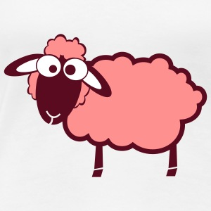 sheep pink - Women's Premium T-Shirt