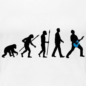 evolution_rocks_032012_d_2c T-Shirts - Frauen Premium T-Shirt