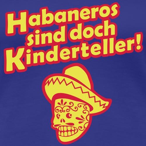 Habaneros sind doch Kinderteller!, bicolor