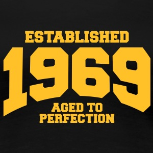 aged to perfection Geburtstag - established 1969 ( - Frauen Premium T-Shirt