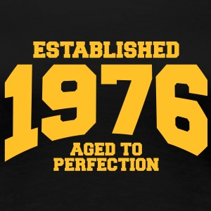 aged to perfection established 1976 (uk) T-Shirts - Women's Premium T-Shirt