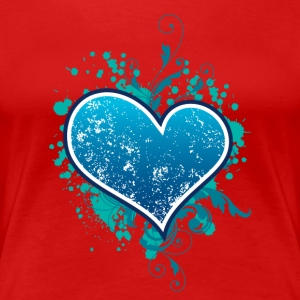 Heart T-shirt - Frauen Premium T-Shirt