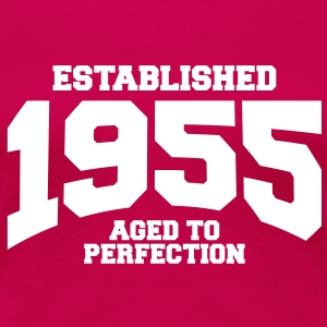 aged to perfection established 1955 (fr) Tee shirts - T-shirt Premium Femme