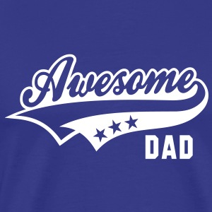 Awesome DAD T-Shirt WB - Mannen Premium T-shirt