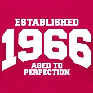 aged to perfection established 1966 (fr) Tee shirts - T-shirt Premium Femme