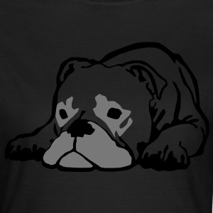 bulldog_d_12_2clr T-Shirts - Frauen T-Shirt