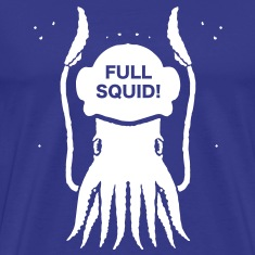 FULL SQUID! HELMET T-Shirts