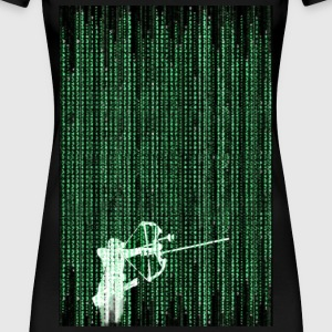 The Matrix Archer T-Shirts - Frauen Premium T-Shirt