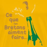 Motif ~ Tshirt humour ce que les bretons aiment faire