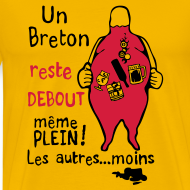 Motif ~ Un Breton reste debout même plein