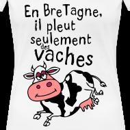 Motif ~ Tee shirt humoristique breton en bretagne il pleut