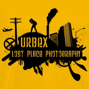Lost Place Photography Black T-Shirts - Männer Premium T-Shirt