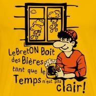 Motif ~ Tee shirt humoristique bierre tant pas clair