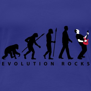 evolution_rocks_032012_g_3c T-Shirts - Women's Premium T-Shirt