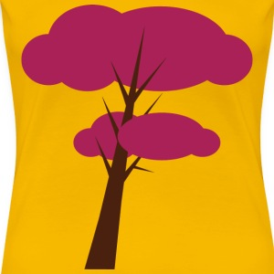purple_tree T-shirts - Vrouwen Premium T-shirt
