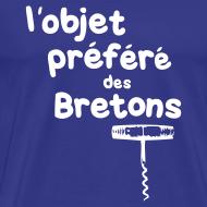 Motif ~ Tshirt humour objet prefere des bretons