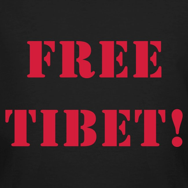 Klimaneutral, free tibet
