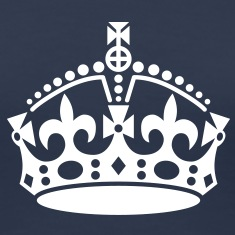keep calm | crown jewels T-Shirts
