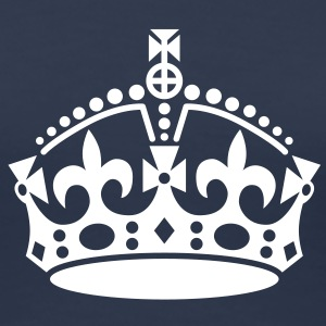 keep calm | crown jewels T-Shirts - Vrouwen Premium T-shirt