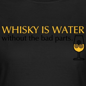 Whisky is water, bicolor Tee shirts - T-shirt Femme