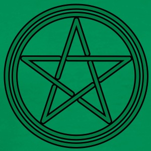 pagan celtic pentagram T-shirts - Mannen Premium T-shirt