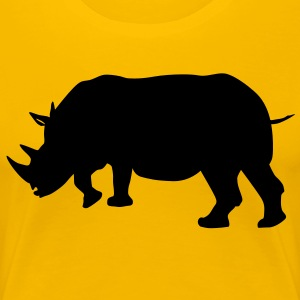 rhinoceros - Women's Premium T-Shirt
