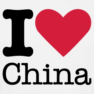 I Love China T-Shirts - Men's T-Shirt