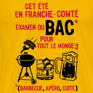 bac franche comte barbecue apero cuite biere Tee shirts - T-shirt Premium Homme
